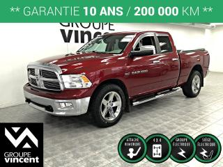 Used 2012 RAM 1500 SLT 4X4 ** GARANTIE 10 ANS ** Une valeur sure! for sale in Shawinigan, QC