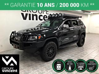 Used 2014 Jeep Grand Cherokee LIMITED AWD ** GARANTIE 10 ANS ** Vehicule unique! for sale in Shawinigan, QC