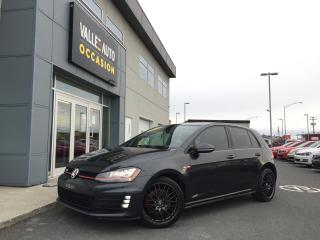 Used 2015 Volkswagen Golf GTI 5dr HB DSG Autobahn for sale in St-Georges, QC
