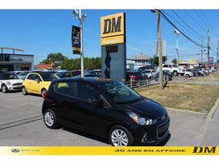 Used 2018 Chevrolet Spark LT  CAMÉRA  BLUETOOTH  GR. ÉLECT  CRUISE for sale in Salaberry-de-Valleyfield, QC