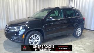 Used 2014 Volkswagen Tiguan Trendline 4 portes 2RM AUTOMATIQUE for sale in Sherbrooke, QC