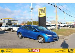 Used 2018 Chevrolet Volt LT HATCHBACK CAMERA APPLE/ANDROID SIÈGES CHAUF for sale in Salaberry-de-Valleyfield, QC
