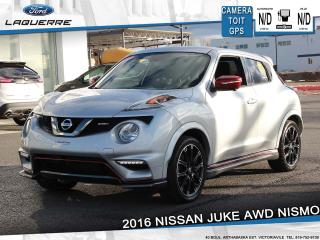 Used 2016 Nissan Juke NISMO AWD**GPS*CAMERA*BLUETOOTH*A/C** for sale in Victoriaville, QC