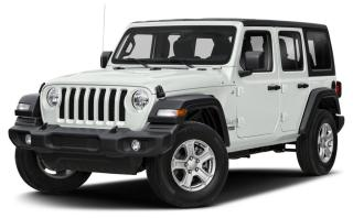Used 2019 Jeep Wrangler Unlimited Sport COLD WEATHER GROUP, PUSH START IGNITION, 5.0 TOUCH SCREEN, FACTORY REMOTE STARTER for sale in Ottawa, ON