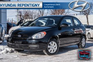 Used 2010 Hyundai Accent L 3 PORTES**TRÈS BAS KILOMÉTRAGE** for sale in Repentigny, QC