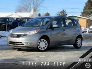 Used 2014 Nissan Versa Note 1.6 SV + BAS KILO + CLIMATISEUR + BLUETO for sale in Magog, QC