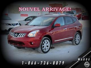 Used 2011 Nissan Rogue SL AWD + CUIR + TOIT + CAMÉRA + BOSE! for sale in Magog, QC