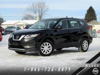 Used 2017 Nissan Rogue S AWD + CAMÉRA + BLUETOOTH + CLIMATISEUR for sale in Magog, QC