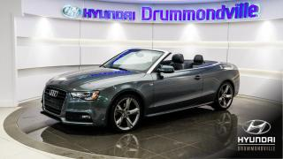 Used 2013 Audi A5 PREMIUM PLUS + S-LINE + GARANTIE + NAVI for sale in Drummondville, QC