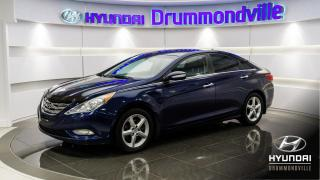 Used 2013 Hyundai Sonata LIMITED + GARANTIE + CUIR + WOW !! for sale in Drummondville, QC