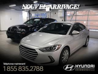 Used 2017 Hyundai Elantra GL + GARANTIE + MAGS + CAMERA + ANGLES M for sale in Drummondville, QC