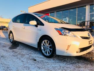 Used 2012 Toyota Prius V hybride,bluetooth,siege chauffant for sale in Lévis, QC