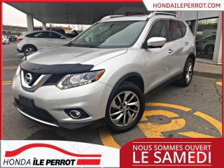 Used 2015 Nissan Rogue S , AWD , JAMAIS ACCIDENTÉ for sale in Île-Perrot, QC