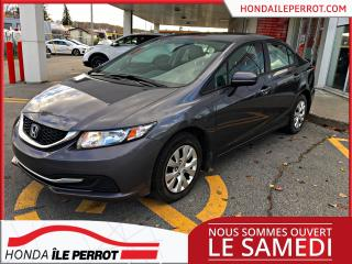 Used 2015 Honda Civic LX , Un propriétaire for sale in Île-Perrot, QC