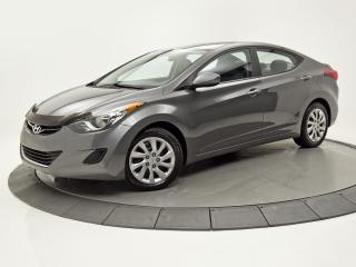Used 2013 Hyundai Elantra GL SIÈGES CHAUFFANTS BLUETOOTH CRUISE for sale in Brossard, QC
