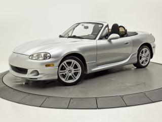 Used 2002 Mazda Miata MX-5 MANUEL A/C GROUPES ÉLECTRIQUES for sale in Brossard, QC