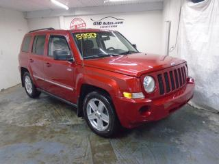 Used 2010 Jeep Patriot SPORT for sale in Ancienne Lorette, QC