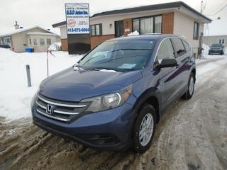 Used 2014 Honda CR-V LX for sale in Ancienne Lorette, QC