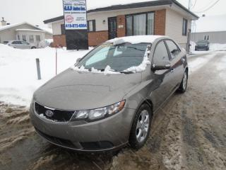 Used 2010 Kia Forte EX for sale in Ancienne Lorette, QC