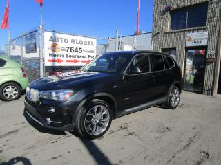 Used 2016 BMW X3 Traction intégrale,xDrive35i X-Line for sale in Montréal, QC