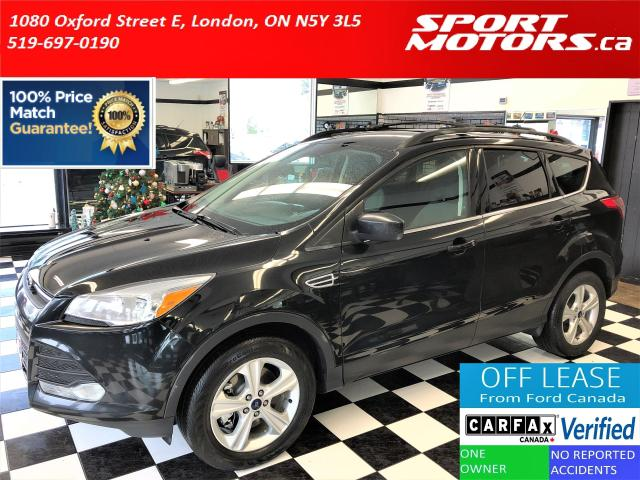 2015 Ford Escape SE 4WD 2.0L+Power Gate+MyFord+Camera+ACCIDENT FREE
