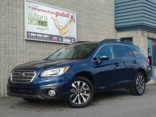 Used 2016 Subaru Outback 3.6r limited*eyesight**98$/sem*cuir*gps*toit*awd for sale in Richelieu, QC