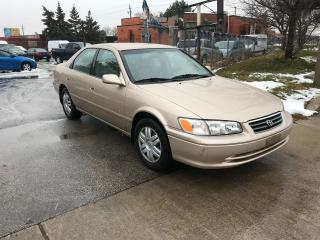 Used 2000 Toyota Camry 4 cylenders,auto,175,safety+3years warranty includ for sale in Toronto, ON