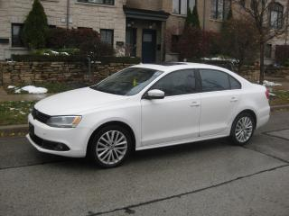 Used 2012 Volkswagen Jetta HIGHLINE, LEATHER, NAVI, SUNROOF, NO ACCIDENTS A1 for sale in Toronto, ON