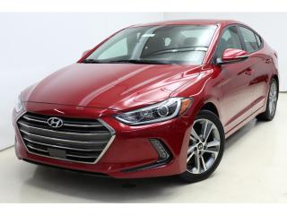 Used 2017 Hyundai Elantra Limited-SE *Cuir/Leather *Toit/Roof *Blindspot for sale in St-Hubert, QC
