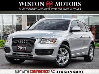 Used 2011 Audi Q5 2.0L*AWD*QUATTRO*LEATHER*REV CAM!!* for sale in Toronto, ON