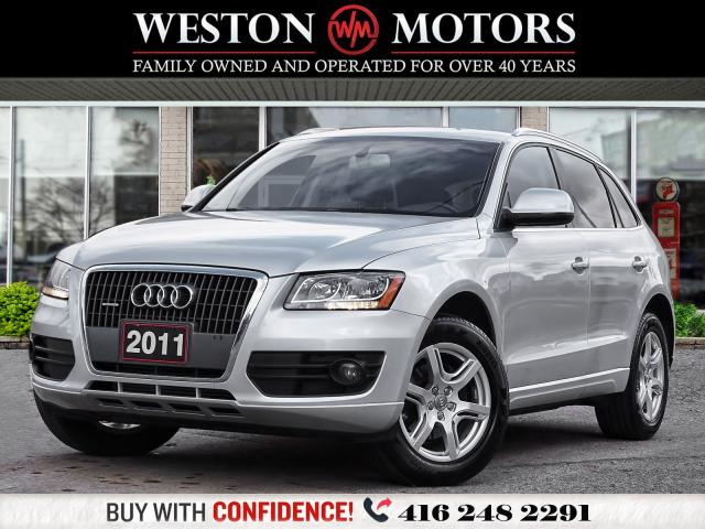 2011 Audi Q5 2.0L*AWD*QUATTRO*LEATHER*REV CAM!!*