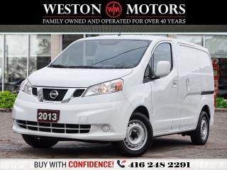 Used 2013 Nissan NV200 SV*4CYL*SHELVING*BLUETOOTH!!* for sale in Toronto, ON