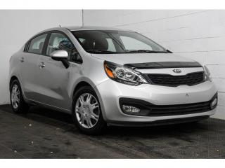 Used 2013 Kia Rio LX+ SIÈGES CHAUFFANTS BLUETOOTH CRUISE for sale in Brossard, QC