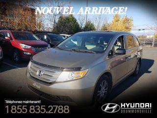 Used 2011 Honda Odyssey EX-L + GARANTIE + TOIT + CUIR + CAM. + D for sale in Drummondville, QC
