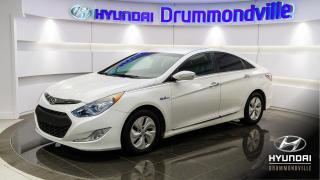 Used 2014 Hyundai Sonata Hybride GARANTIE + MAGS + CAMERA + CRUISE + WOW for sale in Drummondville, QC