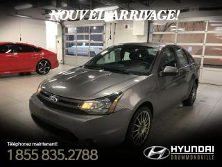 Used 2010 Ford Focus SES + GARANTIE + TOIT + CUIR + WOW !! for sale in Drummondville, QC