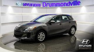 Used 2012 Mazda MAZDA3 GX + GARANTIE + MAGS + CRUISE + A/C !! for sale in Drummondville, QC