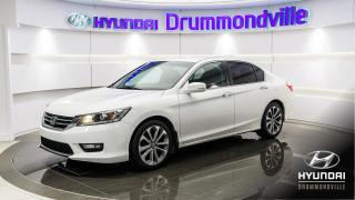 Used 2014 Honda Accord SPORT + GARANTIE + MAGS + CAMERA + WOW ! for sale in Drummondville, QC