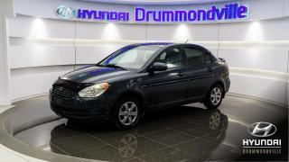 Used 2008 Hyundai Accent GL + AIR CLIMATISE + GROUPE ELECTRIQUE ! for sale in Drummondville, QC
