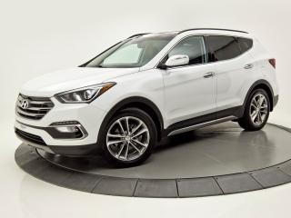 Used 2017 Hyundai Santa Fe Sport LIMITED AWD NAV TOIT PANO CUIR CAM DE RECUL for sale in Brossard, QC