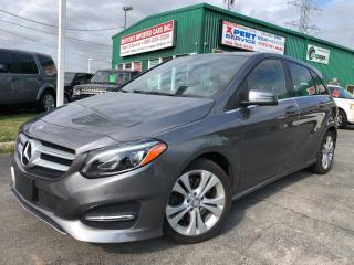 Used 2015 Mercedes-Benz B-Class B 250 Sports Tourer 4Matic Nav for sale in Burlington, ON