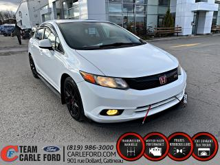 Used 2012 Honda Civic Honda Civic Si 2012, Bluetooth, toit ouv for sale in Gatineau, QC