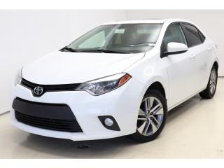Used 2014 Toyota Corolla LE-ECO UPGRADE *Toit-Ouvrant/Sunroof *Camera for sale in St-Hubert, QC