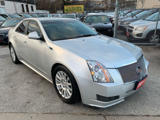 Used 2011 Cadillac CTS EXTRA CLEAN-LEATHER-BLUETOOTH-ALLOYS for sale in Scarborough, ON