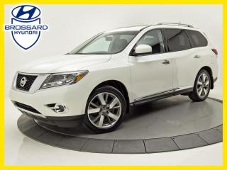Used 2016 Nissan Pathfinder 4WD PLATINUM CUIR NAV TOIT OUVRANT CAM DE RECUL for sale in Brossard, QC