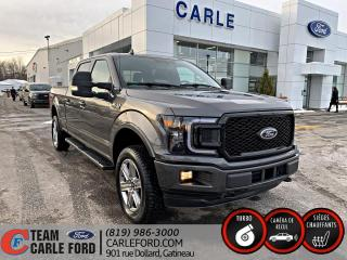 Used 2018 Ford F-150 Ford F-150 XLT S/Crew 2018, Toit panoram for sale in Gatineau, QC