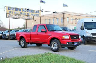 Used 2008 Ford Ranger FALL SALES EVENT!!! WAS: $5,950 NOW $5,450 for sale in Brampton, ON
