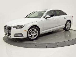 Used 2017 Audi A4 KOMFORT SIÈGES CHAUFANTS BLUETOOTH CRUISE for sale in Brossard, QC