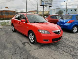 Used 2007 Mazda MAZDA3 GS for sale in Mascouche, QC