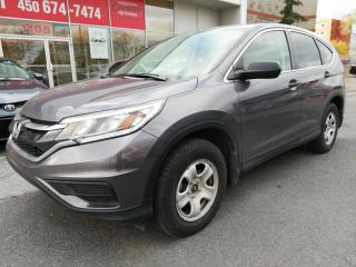 Used 2016 Honda CR-V LX 2WD ** SIÈGES CHAUFFANTS GROUPE ÉLECTRIQUE ** for sale in Longueuil, QC